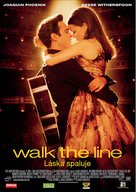 Walk the Line - Czech Movie Poster (xs thumbnail)