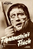 The Curse of Frankenstein - German poster (xs thumbnail)