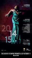 """Metropolitan Opera: Live in HD"" - Lebanese Movie Poster (xs thumbnail)"