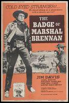 The Badge of Marshal Brennan - Movie Poster (xs thumbnail)