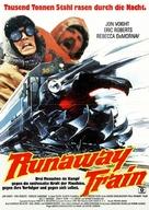 Runaway Train - German Movie Poster (xs thumbnail)