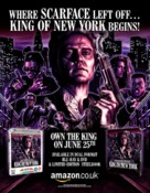 King of New York - British Video release movie poster (xs thumbnail)