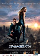 Divergent - Slovak Movie Poster (xs thumbnail)