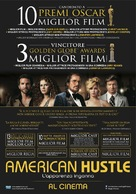 American Hustle - Italian Movie Poster (xs thumbnail)