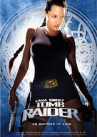 Lara Croft: Tomb Raider - German Movie Poster (xs thumbnail)