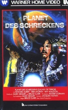 Galaxy of Terror - German Movie Cover (xs thumbnail)