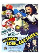 The Three Musketeers - Belgian Movie Poster (xs thumbnail)
