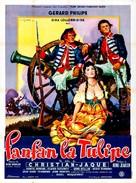 Fanfan la Tulipe - French Movie Poster (xs thumbnail)