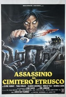 Assassinio al cimitero etrusco - Italian Movie Poster (xs thumbnail)