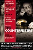 Die Fälscher - British poster (xs thumbnail)
