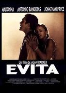 Evita - French Movie Poster (xs thumbnail)
