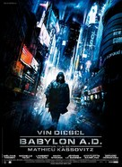 Babylon A.D. - French Movie Poster (xs thumbnail)