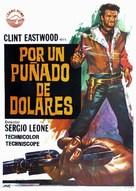 Per un pugno di dollari - Spanish Movie Poster (xs thumbnail)