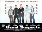 The Usual Suspects - British Movie Poster (xs thumbnail)