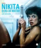 Nikita - Spanish Blu-Ray cover (xs thumbnail)