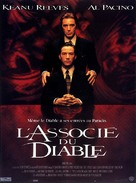 The Devil's Advocate - French Movie Poster (xs thumbnail)