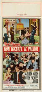 The Honeymoon Machine - Italian Movie Poster (xs thumbnail)