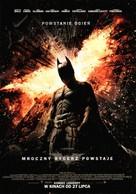 The Dark Knight Rises - Polish Movie Poster (xs thumbnail)