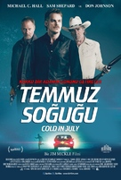 Cold in July - Turkish Movie Poster (xs thumbnail)