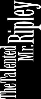 The Talented Mr. Ripley - Logo (xs thumbnail)