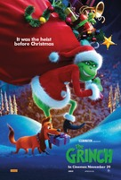 The Grinch - Australian Movie Poster (xs thumbnail)