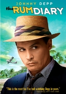 The Rum Diary - DVD cover (xs thumbnail)