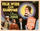 High, Wide, and Handsome - Movie Poster (xs thumbnail)