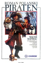 Pirates - German VHS movie cover (xs thumbnail)