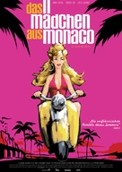 La fille de Monaco - German Movie Poster (xs thumbnail)