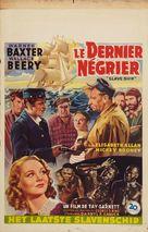 Slave Ship - Belgian Movie Poster (xs thumbnail)