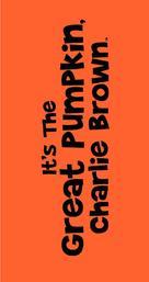 It's the Great Pumpkin, Charlie Brown - Logo (xs thumbnail)