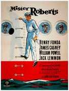 Mister Roberts - Danish Movie Poster (xs thumbnail)
