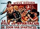 Il figlio di Spartacus - Belgian Movie Poster (xs thumbnail)