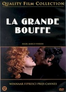 La grande bouffe - Dutch DVD movie cover (xs thumbnail)