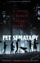 Pet Sematary - Italian Movie Poster (xs thumbnail)