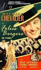 Folies Bergère de Paris - VHS cover (xs thumbnail)