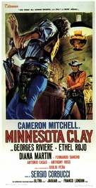 Minnesota Clay - Italian Movie Poster (xs thumbnail)