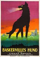 Der Hund von Baskerville - Swedish Movie Poster (xs thumbnail)