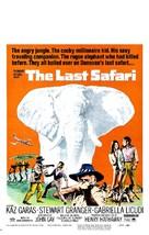 The Last Safari - Movie Poster (xs thumbnail)