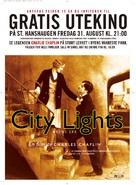 City Lights - Norwegian Movie Poster (xs thumbnail)