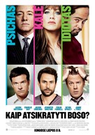 Horrible Bosses - Lithuanian Movie Poster (xs thumbnail)
