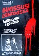 An American Werewolf in London - Finnish Movie Poster (xs thumbnail)