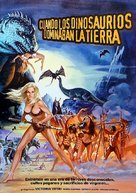 When Dinosaurs Ruled the Earth - Spanish Movie Poster (xs thumbnail)
