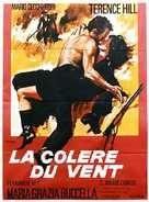 La collera del vento - French Movie Poster (xs thumbnail)