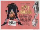 Cat Ballou - British Movie Poster (xs thumbnail)
