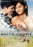 Love Story - Indonesian Movie Poster (xs thumbnail)