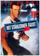 Death Warrant - German Movie Poster (xs thumbnail)