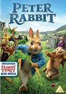 Peter Rabbit - British DVD movie cover (xs thumbnail)