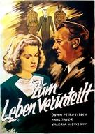 Életre ítéltek! - German Movie Poster (xs thumbnail)