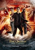 Percy Jackson: Sea of Monsters - Croatian Movie Poster (xs thumbnail)